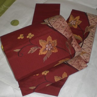 正絹 名古屋帯  美品(帯)