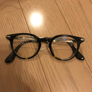 クロムハーツ(Chrome Hearts)のクロムハーツ 眼鏡 黒縁めがね メガネ 丸眼鏡(サングラス/メガネ)