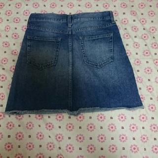 ローリーズファーム(LOWRYS FARM)のデニム  スカート size S(ミニスカート)