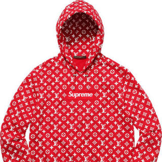 ルイヴィトン(LOUIS VUITTON)のSupreme Louis Vuitton Box Logo (パーカー)
