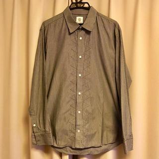 ヴィスヴィム(VISVIM)のvisvim 初期ワイシャツ ギザヒッコリーワイシャツ  Lサイズ(シャツ)