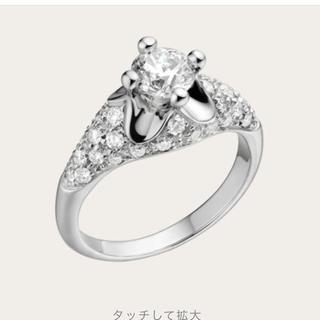 ブルガリ(BVLGARI)のブルガリコロナパヴェダイヤモンド9号リング0.5カラット新品婚約指輪(リング(指輪))