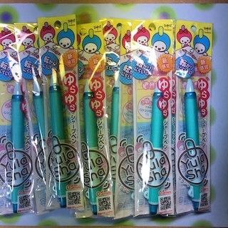 トンボエンピツ(トンボ鉛筆)のトンボ鉛筆 シャープペン ユラシャ SH-YL42 ラムネ 10本(その他)
