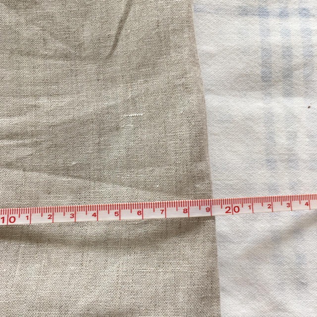 MUJI (無印良品)(ムジルシリョウヒン)の❇︎ 無印良品  麻 巾着 ❇︎ キッズ/ベビー/マタニティのこども用バッグ(ランチボックス巾着)の商品写真