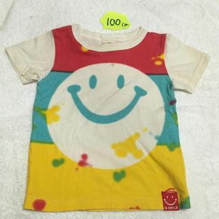 BajaSmile 100cm タイダイ スマイル Tシャツ