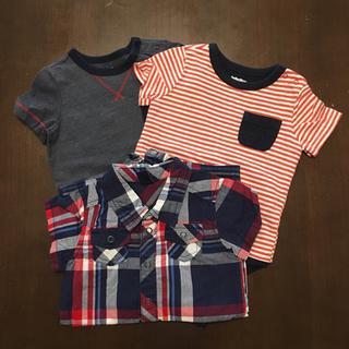 ベビーギャップ(babyGAP)のびりーやんさん専用【babyGap】ボディシャツ他2点(ロンパース)