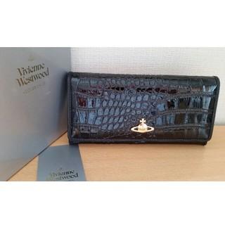 ヴィヴィアンウエストウッド(Vivienne Westwood)のヴィヴィアンウエストウッド ブラックレザー 長財布(財布)