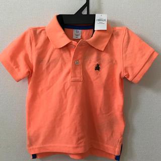 ギャップ(GAP)の新品!babygapオレンジポロシャツ80(シャツ/カットソー)