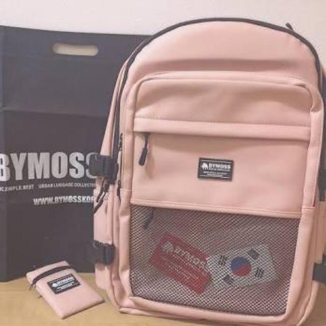 ce31513c9528 BYMOSS - BYMOSS KOREA マキシマムリュック【ピンク】の通販 by mirokn's ...