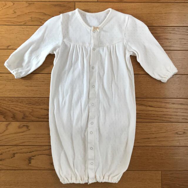 fb2638605c45f familiar(ファミリア)のエンゼルスター オーガニックコットン ツーウェイオール 新生児 50-70 キッズ