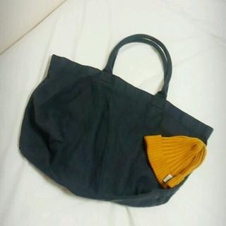ムジルシリョウヒン(MUJI (無印良品))の無印良品 大きいトートバッグ(トートバッグ)