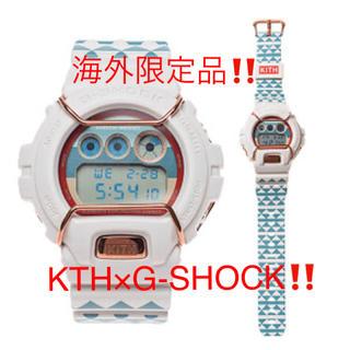 ジーショック(G-SHOCK)の日本未発売‼️ Kith x G-Shock DW 6900 KTH 7CR(腕時計(デジタル))