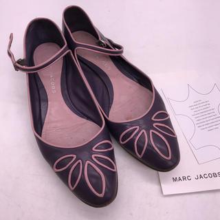 マークジェイコブス(MARC JACOBS)のマークジェイコブス フラットシューズ 36(ローファー/革靴)