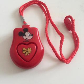 ディズニー(Disney)のミッキー防犯ブザー(防災関連グッズ)