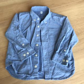 ムジルシリョウヒン(MUJI (無印良品))の無印良品  オックスボタンダウンシャツ(ブラウス)