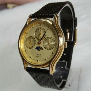 タイメックス(TIMEX)のTIMEX腕時計 ムーンフェイズ メンズレディースクォーツ (腕時計(アナログ))