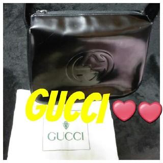 グッチ(Gucci)の引っ越し処分赤字大特価っ❣️【鑑定済】GUCCI❤エナメルレザーGGバッグ(ハンドバッグ)