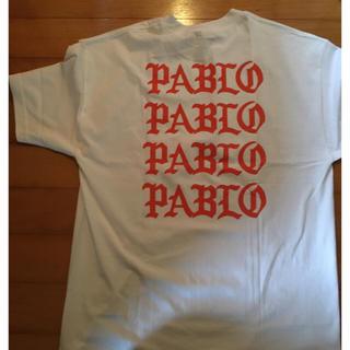 シュプリーム(Supreme)のpablo カニエウエスト yezzy Tシャツ(Tシャツ/カットソー(半袖/袖なし))