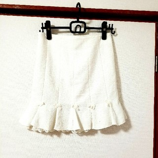 リズリサ(LIZ LISA)のリズリサ リボン フリル スカート(ひざ丈スカート)