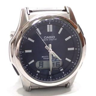 カシオ(CASIO)のA462 中古 カシオ ウェーブセプター WVA-M630 SS 腕時計(腕時計(アナログ))