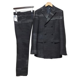 ジルサンダー(Jil Sander)の新品 JIL SANDER ジャガード セットアップ スーツ / ダブル パンツ(セットアップ)