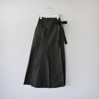 fumika uchida エプロンスカート 新品(ロングスカート)