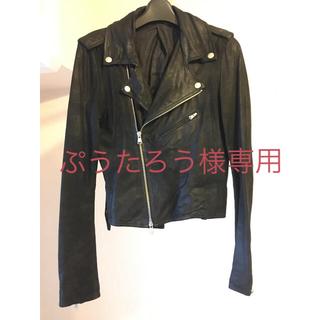 エディション(Edition)の【ぷうたろう様専用】エディション  レザージャケット(ライダースジャケット)