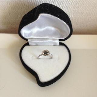 ブラックダイヤモンドリング(リング(指輪))