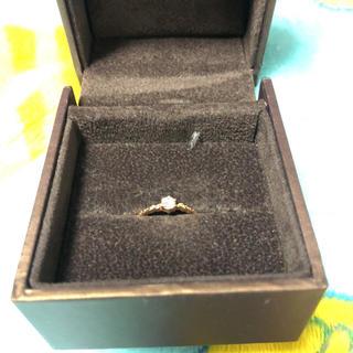 ピンキーリング ピンクダイヤ 指輪(リング(指輪))