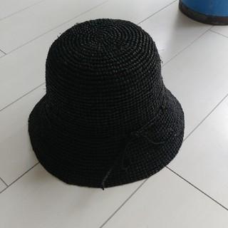 ネストローブ(nest Robe)のネストローブで購入。ハット 黒。(ハット)