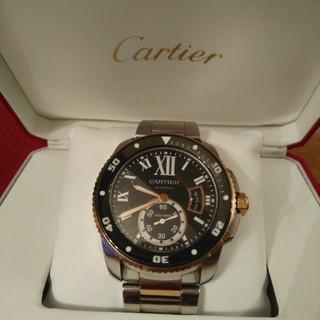 カルティエ(Cartier)のカルティエ時計 カリブル ドゥ ダイバー W7100054  未使用品(腕時計(アナログ))