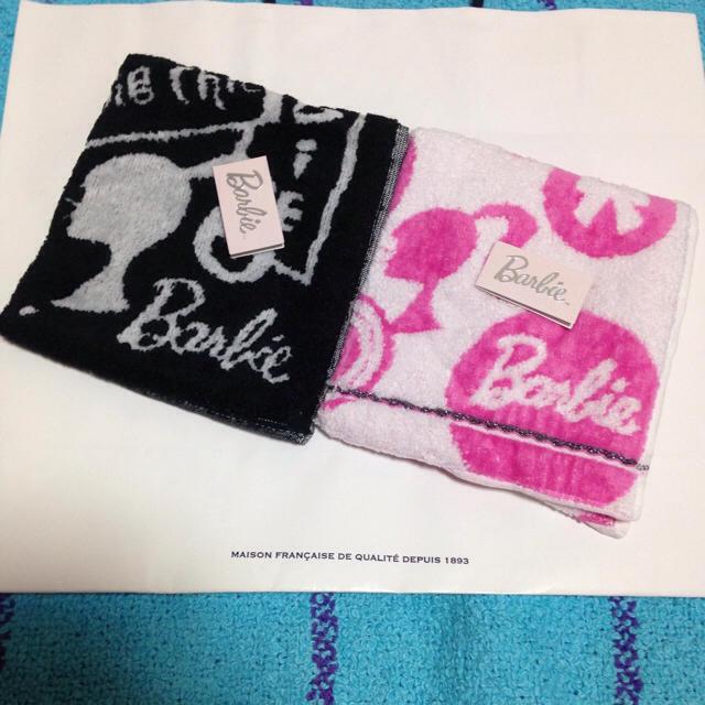 8d213acebc6398 Barbie(バービー)の新品 Barbie バービー レディース タオル ハンカチ2枚セット☆ レディース