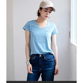 アズールバイマウジー(AZUL by moussy)の新品タグ付き アズールバイマウジー  Tシャツ(Tシャツ(半袖/袖なし))