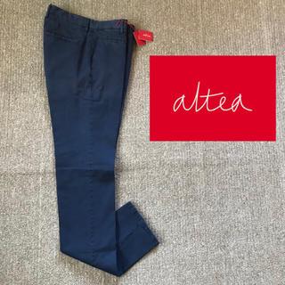 アルテア(ALTEA)の【新品】アルテア ALTEA スリム チノ テーパード ガーメントダイ 46(チノパン)