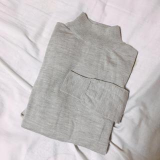 ムジルシリョウヒン(MUJI (無印良品))の無印良品 ハイネック ウールニット(ニット/セーター)