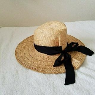 4f15328b2cf ドゥーズィエムクラス(DEUXIEME CLASSE)のお値下げ!lola hats ローラハット ブラックリボン