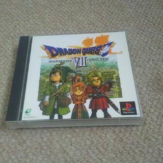 プレイステーション(PlayStation)のps ドラゴンクエスト7(家庭用ゲームソフト)