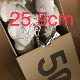 アディダス(adidas)のyeezy500 25.5cm(スニーカー)