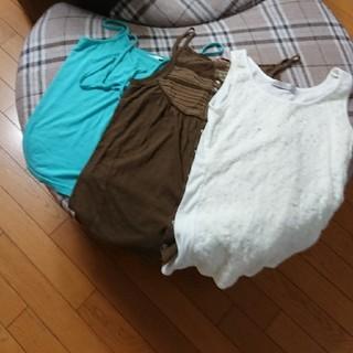 キューブシュガー(CUBE SUGAR)のトップス   3点まとめて(Tシャツ(半袖/袖なし))