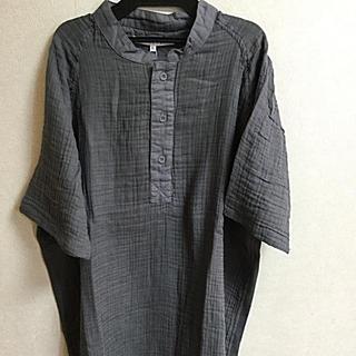 カシウエア(kashwere)の新品未使用タグ付 UCHINO ウチノ うちの クレープガーゼ Tシャツ(Tシャツ/カットソー(半袖/袖なし))