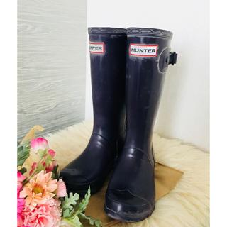 ハンター(HUNTER)のHUNTER☆長靴おしゃれレインブーツUK12 18cm 19cm(長靴/レインシューズ)