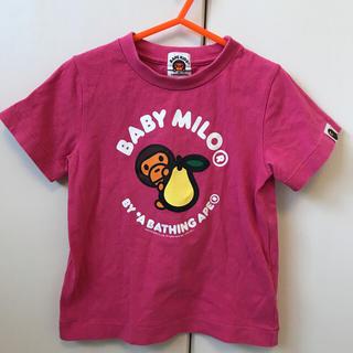 アベイシングエイプ(A BATHING APE)のbape kids 半袖T 100(Tシャツ/カットソー)