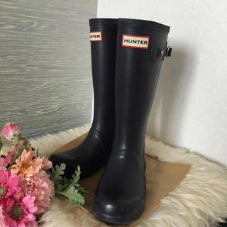 ハンター(HUNTER)のHUNTER☆長靴レインブーツ美品 UK13 19cm20cm(長靴/レインシューズ)