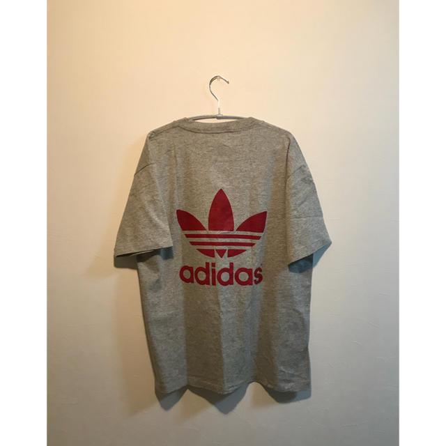 adidas(アディダス)のadidas originals 両目ロゴ tシャツ  USA製 メンズのトップス(Tシャツ/カットソー(半袖/袖なし))の商品写真