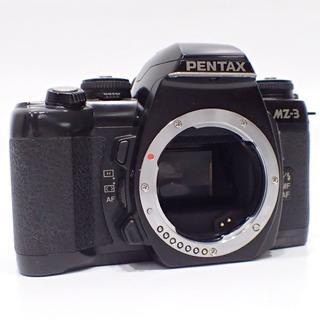 C114 美品PENTAX MZ-3 一眼レフカメラ 作動確認済み(フィルムカメラ)