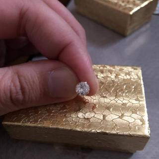 ジュエリーツツミ(JEWELRY TSUTSUMI)のダイヤモンド18金ピアス(ピアス(両耳用))