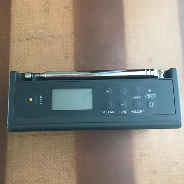 無印良品 充電ラジオ