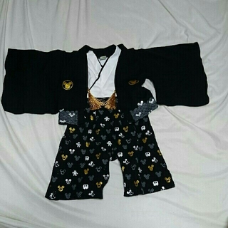 ディズニー(Disney)のミッキー 袴ロンパース(和服/着物)