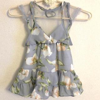 新品 春服シフォンワンピース(ワンピース)