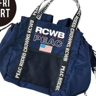 ロデオクラウンズワイドボウル(RODEO CROWNS WIDE BOWL)のPEAC 2WAYバッグ(ハンドバッグ)